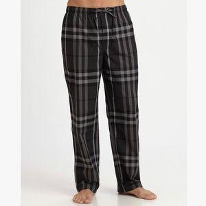 Burberry Pajama Pants Mens XL